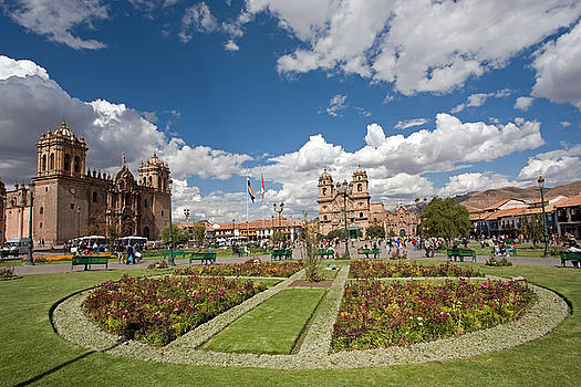 Aivar Mikko - Plaza de Armas in Cusco