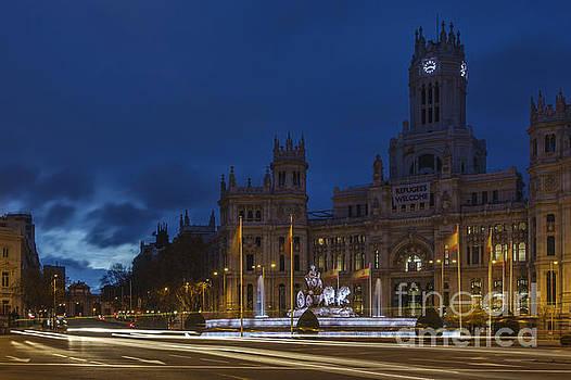 Plaza de Cibeles Madrid Spain by Pablo Avanzini