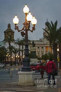 Plaza de San Juan de Dios and the Old Town Hall Cadiz Spain by Pablo Avanzini