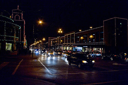 Plaza Lights by Jim Mathis