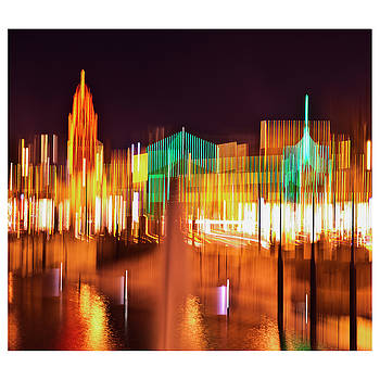 Plaza lights post moderne by Roy Inman