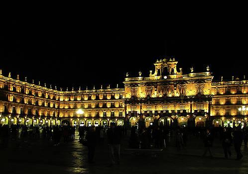 Plaza Mayor de Salamanca by Bogdan Petrila