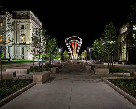 Plaza Night by Timothy Bonesho