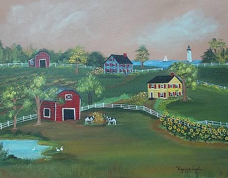 Pleasant View Farm by Virginia Coyle