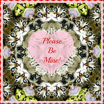 Please Be My Valentine by Kathy M Krause