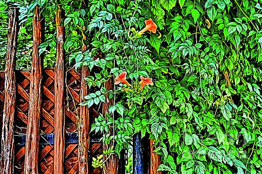 Please Enter the Garden of Peace by Ray Shrewsberry