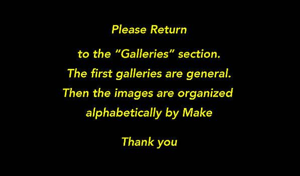 Please Return to Galleries Option by Jill Reger