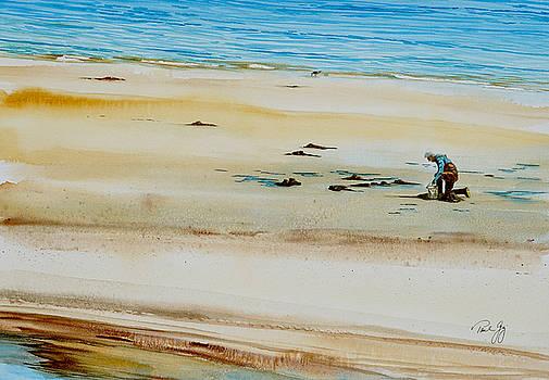 Pleasant Bay Clammer by Paul Gaj