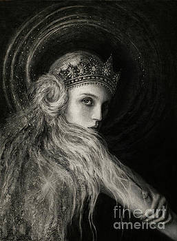 Pleiadian Queen by Laura Krusemark