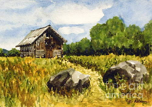 Plein Air Summer - Hildebrand Ranch by Cheryl Emerson Adams