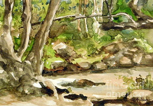 Plein Air Summer - Lair O' the Bear #1 by Cheryl Emerson Adams