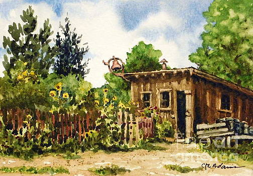 Plein Air Summer - Littleton Historical Museum by Cheryl Emerson Adams