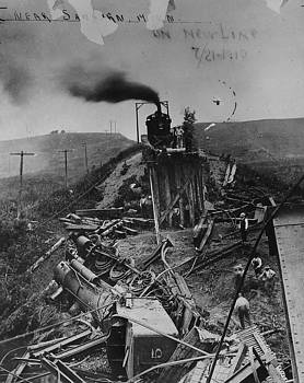 Chicago and North Western Historical Society - Mess Mucks Up Minnesota Line 1910