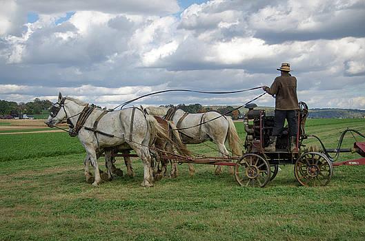 Eleanor Bortnick - Plowing in Lancaster County