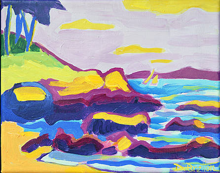 Plum Cove Beach by Debra Bretton Robinson