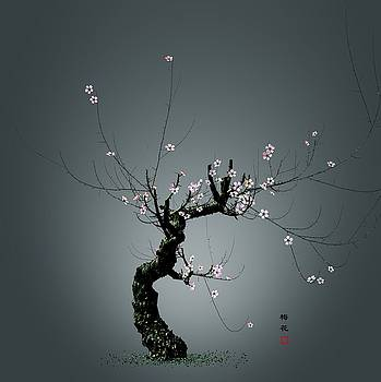 Plum Flower 0204 by GuoJun Pan
