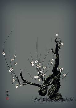 Plum Flower 3 by GuoJun Pan
