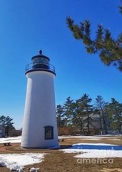 Plum Island Lighthouse by Mary Capriole