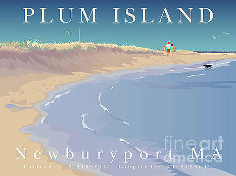 Plum Island, Newburyport, MA by Leslie Alfred McGrath