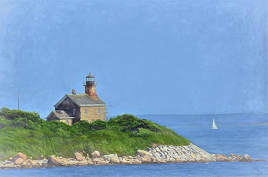 Plumb Island Light by Linda C Johnson