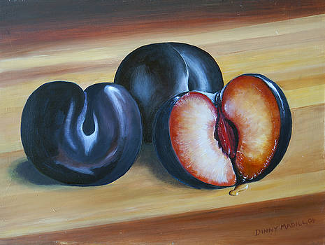 Plums by Dinny Madill