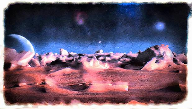 Pluto View by Mario Carini