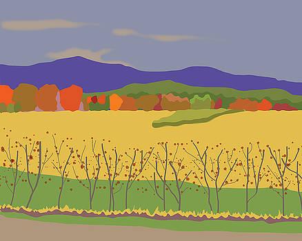 Plymouth Landscape by Marian Federspiel