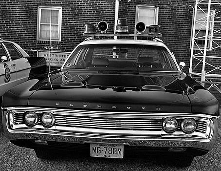 Plymouth Police Car by Paul Seymour