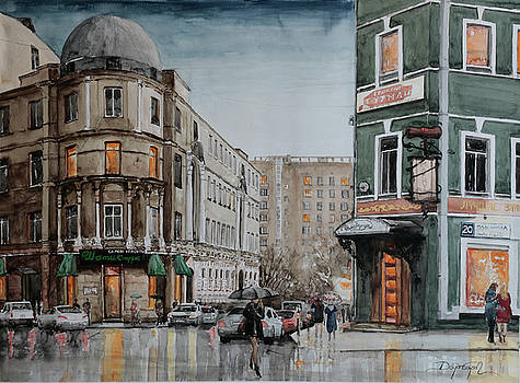 Plyusiha Street / Moscow by Dogan Soysal