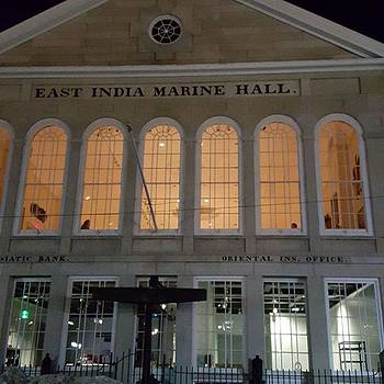 Pm At Night. The Marine Hall Is Where by Jeff Foliage