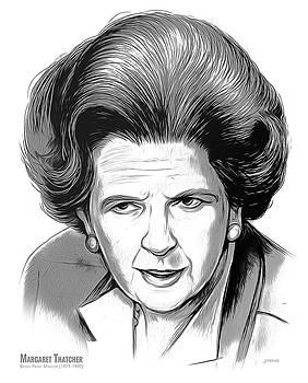 PM Margaret Thatcher by Greg Joens
