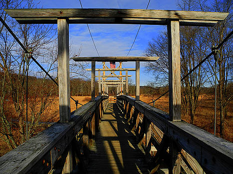Raymond Salani III - Pochuck Boardwalk Bridge