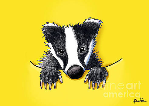Pocket Badger by Kim Niles