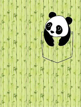 Pocket Bamboo Panda by Stephen Kinsey