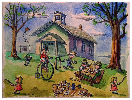 Pocopson Schoolhouse by Michael Stancato