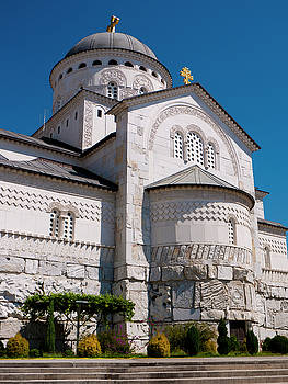 Podgorica Cathedral by Rae Tucker