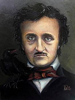 Poe Quoth the Raven by June Ponte