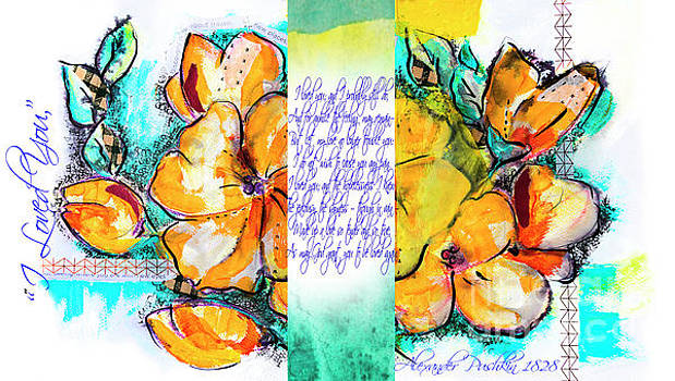 Ariadna De Raadt - lyric of Pushkin and yellow flowers