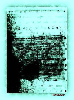 Poetry On A Window by Tony Adamo