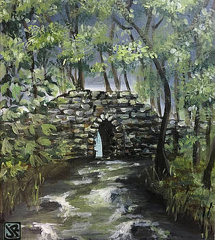 Poinsett Bridge by Julie K Ross