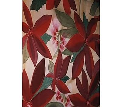 Poinsettia  by Christine  Davis