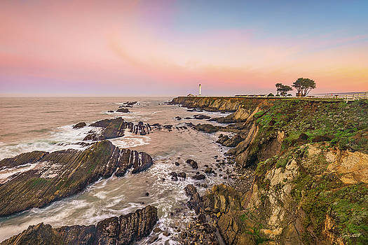 Point Arena Lighthouse by Greg Mitchell Photography