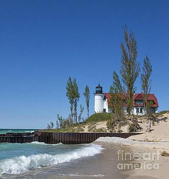 Point Betsie Lighthouse by Brian Mollenkopf