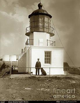 California Views Archives Mr Pat Hathaway Archives - Point Bonita Light House, Marin County circa 1890