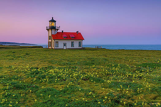 Point Cabrillo Lighthouse by Greg Mitchell Photography