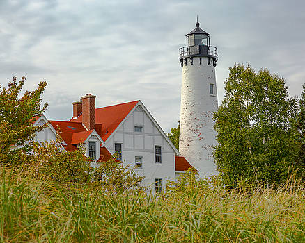 Jack R Perry - Point Iroquois Lighthouse