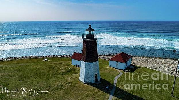 Point Judith Lighthouse by Michael Hughes