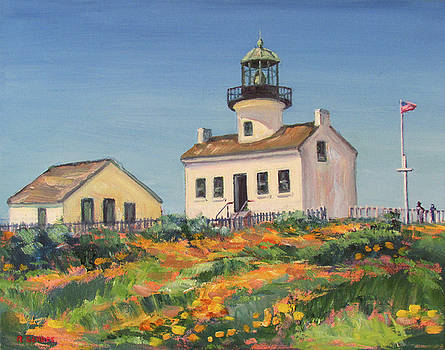 Point Loma Lighthouse Spring by Robert Gerdes