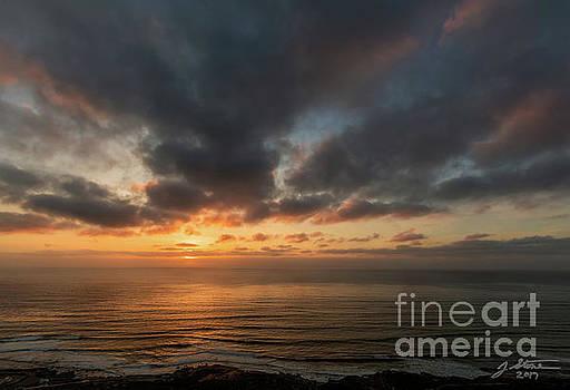 Point Loma Sunset 2 by Jeffrey Stone