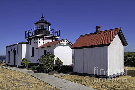 Point No Point Lighthouse by Moore Northwest Images